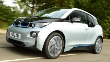 Used BMW i3 - front action