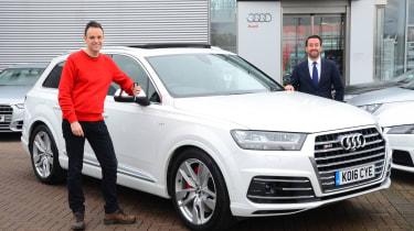 Audi SQ7 long term test - first report header