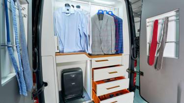 Klassen Sprinter VIP armoured rear storage
