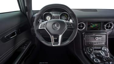 Mercedes SLS Electric Drive interior