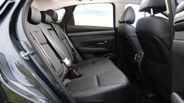 Hyundai Tucson - rear seats