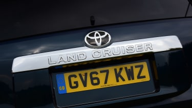 Toyota Land Cruiser - rear badge