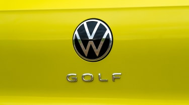 Volkswagen Golf - boot badge