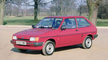 40 years of Fiesta - Fiesta Mk2