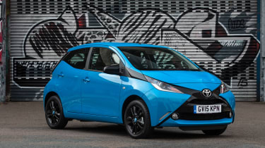 Used Toyota Aygo Mk2 - front static