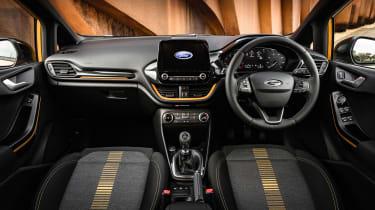 Ford Fiesta Active - cabin