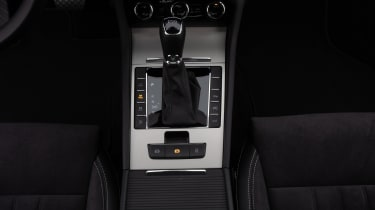 Skoda Superb iV - gear selector