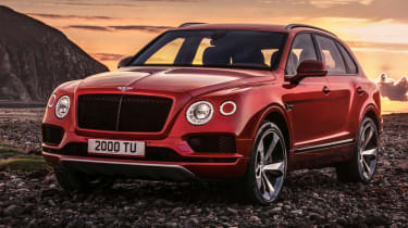 Bentley Bentayga V8 petrol announced - front grille