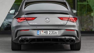 Mercedes-AMG CLA 45 - rear static