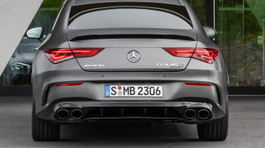 Mercedes-AMG CLA 45 - rear static