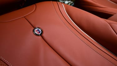 Alpina B4 S Coupe - seat