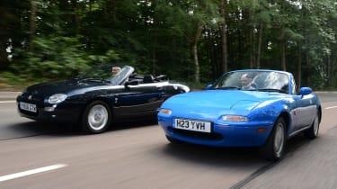 MGF vs Mazda MX-5: modern classic head-to-head