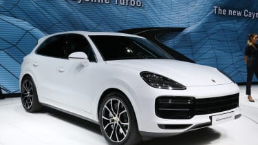 Porsche Cayenne Turbo - Frankfurt front