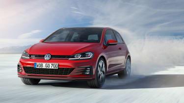 New 2017 Volkswagen Golf GTI - front