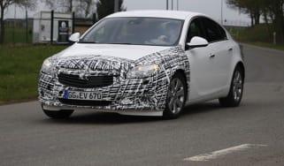 Vauxhall Insignia facelift cornering