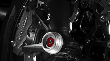 Ducati Monster 821 review - rear wheel
