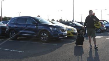 Renault Koleos - car park