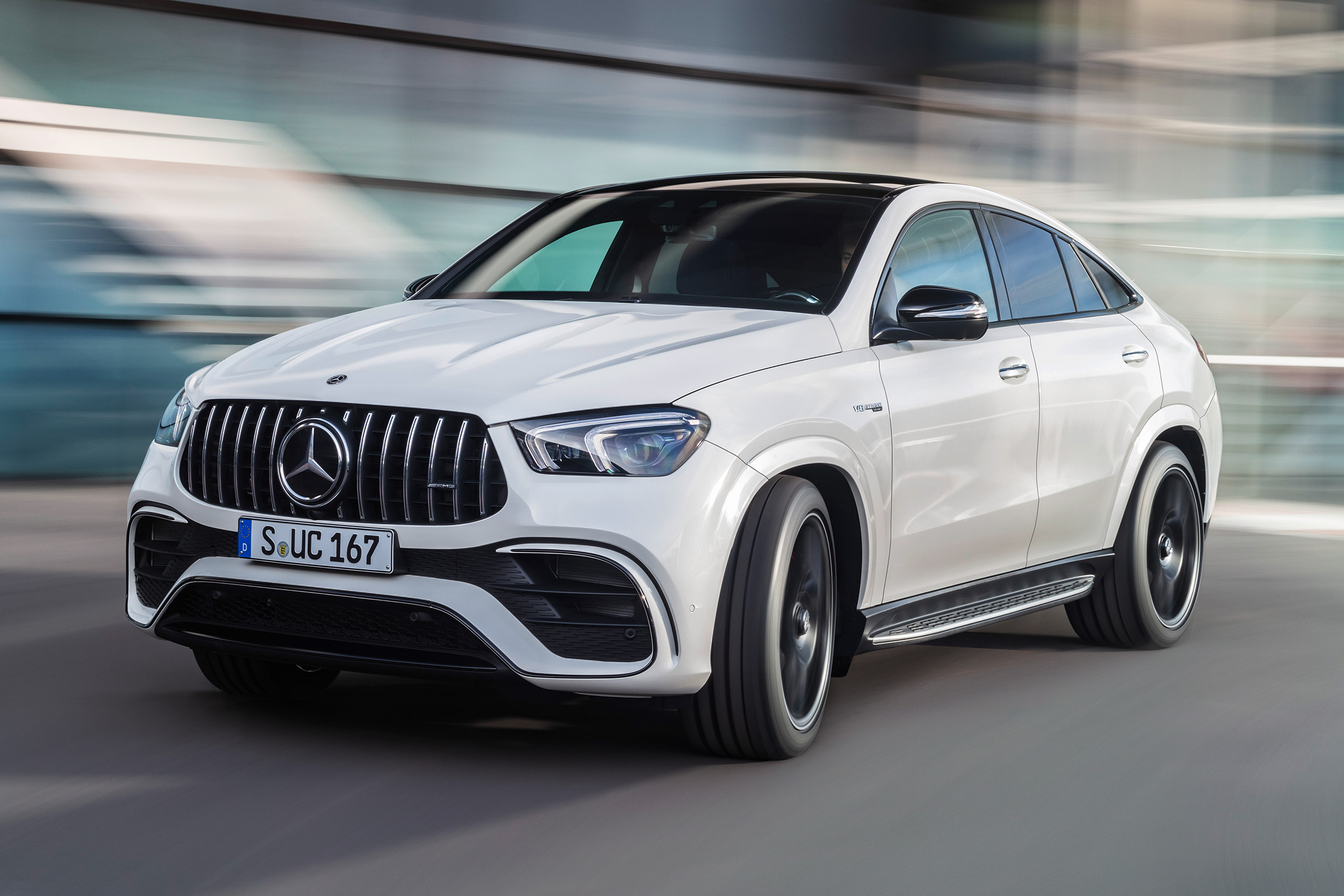New Mercedes Amg Gle 63 S Coupe To Rival Bmw X6 M With 603bhp Auto Express