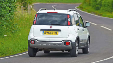 Fiat Panda Cross - rear action