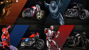 Harley Davidson Marvel Super Hero Customs - header