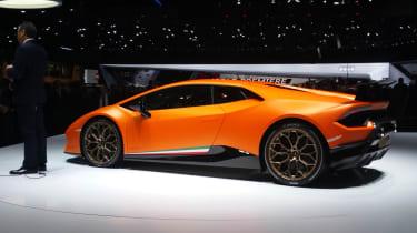 Lamborghini Huracan Performante Geneva stand 2017 2