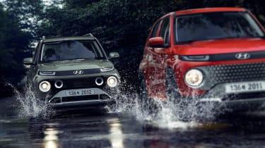 Hyundai Casper - action