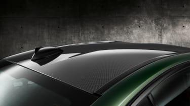 BMW M5 CS - studio roof