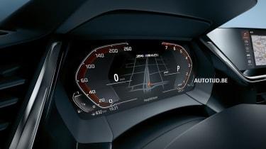 New BMW Z4 dials