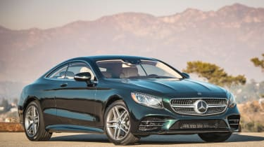 Mercedes S-Class coupe - front