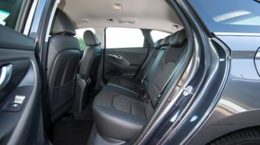 Hyundai i30 Tourer - rear seats
