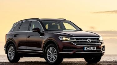 VW Touareg 3.0 V6 petrol - front