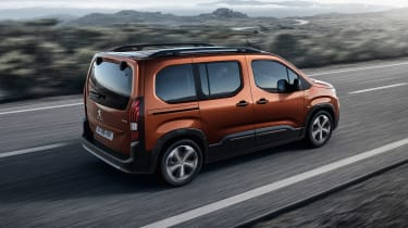 Peugeot Rifter - rear action