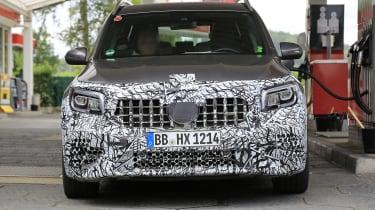 Mercedes-AMG GLB 45 - spied front