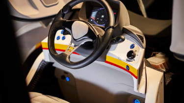 Shell Project M city car - interior