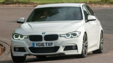 BMW 3 Series - front cornering