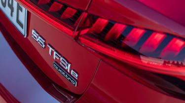 Audi A7 Sportback 55 TFSI e - rear lights