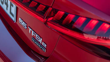 Audi A7 Sportback 55 TFSI e - rear lights