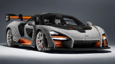 Lego McLaren Senna - front static