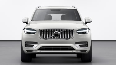 Volvo XC90 facelift - front