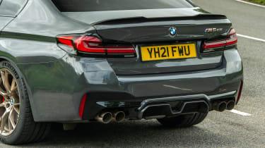 BMW M5 CS - rear detail