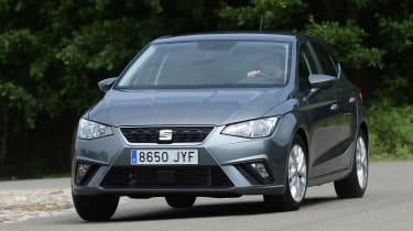 New SEAT Ibiza - front cornering