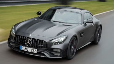 Mercedes-AMG GT C Edition 50 - front cornering 2