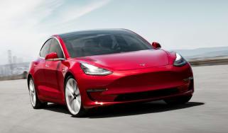 Tesla Model 3 Performance - front action