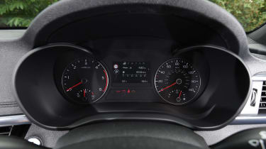 Kia Optima Sportswagon - dials