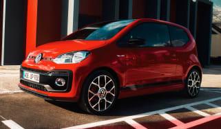 Volkswagen up! GTI - red front
