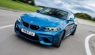 New BMW M2 Coupe UK - front cornering