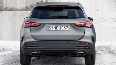 Mercedes GLA - full rear