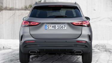 Mercedes GLA - full rear