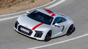 Audi R8 RWS - above