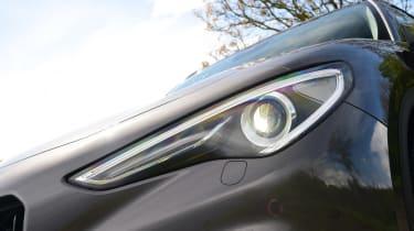 Alfa Romeo Stelvio Nero Edizione - front lights